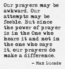 Power of the Prayer